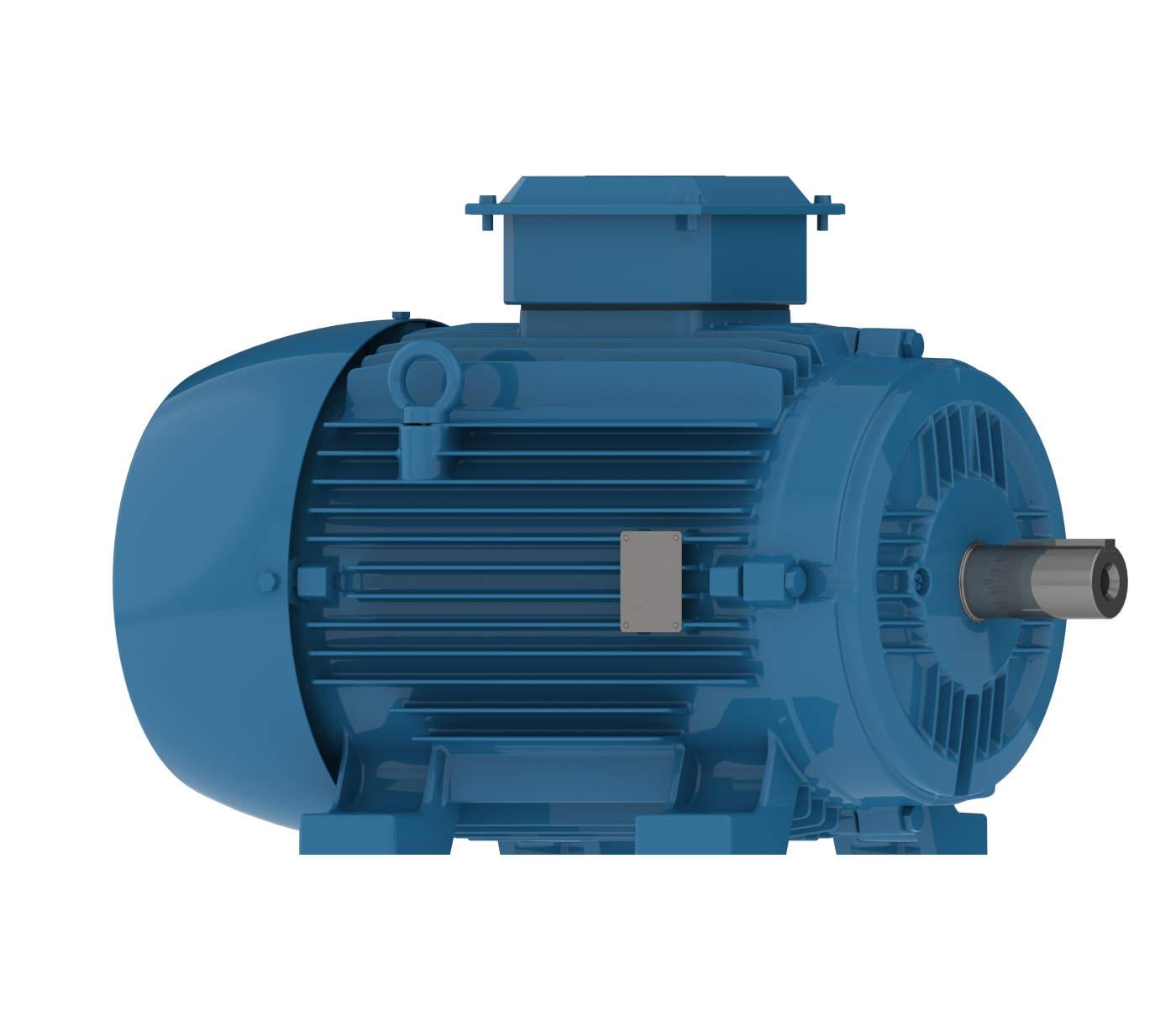 Электродвигатель W21 R-100S, 3 kW, 4 Pol, B3T, 220-240/380-415 V, 50 Hz, IE1, IP54, std.